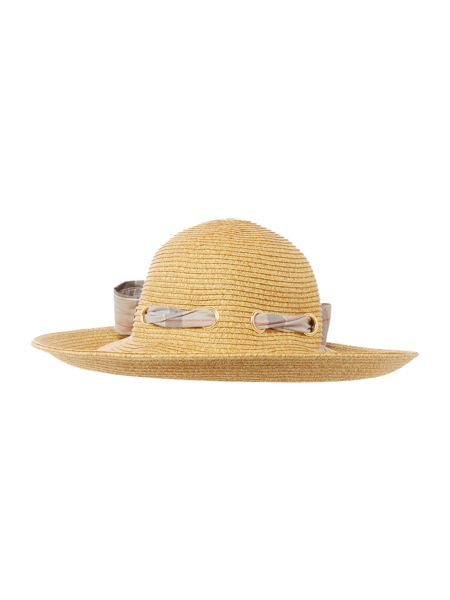 Barbour Summer tartan straw hat