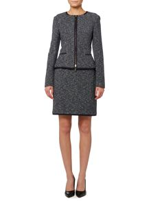 Kalaila Boucle Zip Thru Jacket