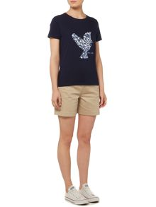 Dickins & Jones Puff Print Bird T-Shirt