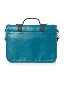Ted Baker Contrast pocket satchel