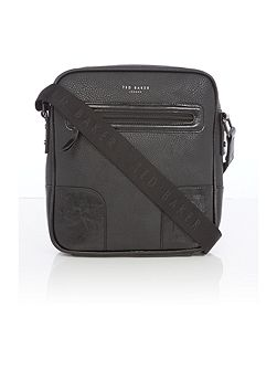 Embossed corner flight bag