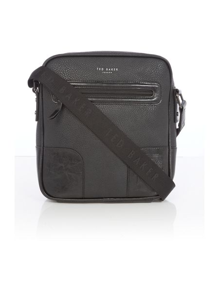 Ted Baker Embossed corner flight bag