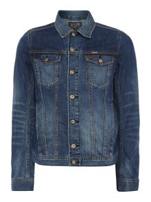 Diesel Elshar collared denim jacket
