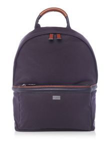 Ted Baker Canvas and leather backpack