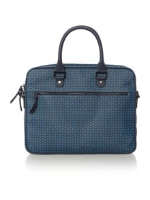 Ted Baker Printed document bag