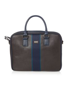 Ted Baker Striped webbing document bag