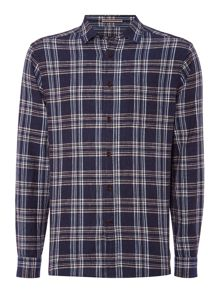 Howick Otisfield Linen Check Shirt