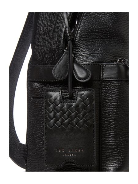 Ted Baker Woven leather backpack