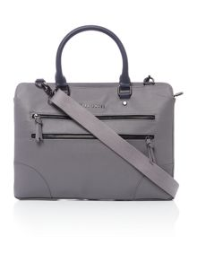 Ted Baker Contrast detail document bag