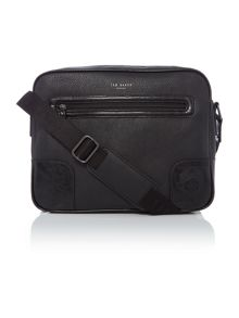Ted Baker Embossed corner document bag