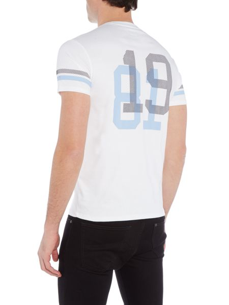 Armani Jeans Regular Fit `81` Back Graphic T Shirt