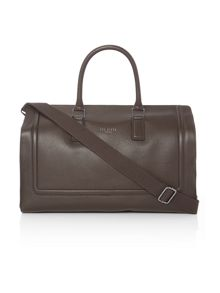 Ted Baker Raised edge leather holdall