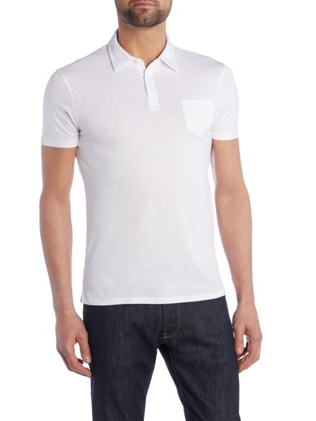 Armani Jeans Regular Fit Pima Cotton Pocket Polo