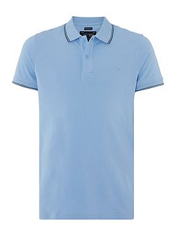 Regular Fit Pique Tipped Polo