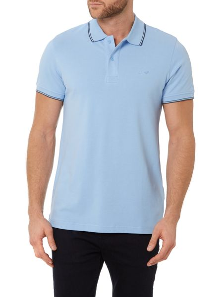 Armani Jeans Regular Fit Pique Tipped Polo