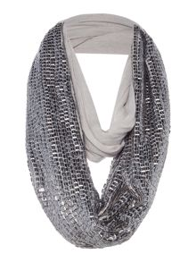 Label Lab METAL STUD SNOOD