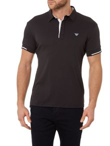Regular Fit Mercerised Tipped Sleeve Polo