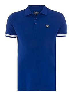 Regular Fit Thick Tipped Sleeve Polo