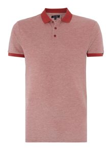 Armani Jeans Regular Fit Birdseye Pique Polo