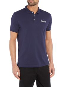 Armani Jeans Regular Fit Text Logo Polo