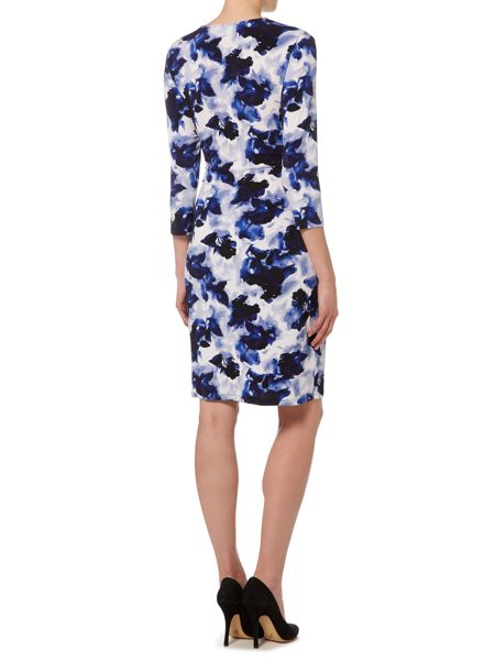Ellen Tracy Jersey shift dress