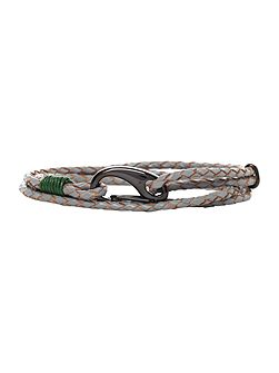 Ted Baker Multi wrap leather bracelet