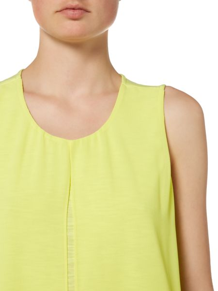 Ellen Tracy Overlay top