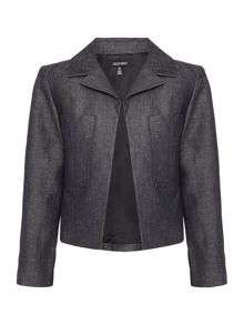 Ellen Tracy Two pocket crop jacket
