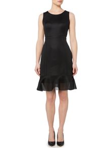 Pied a Terre Scuba Mesh Dress