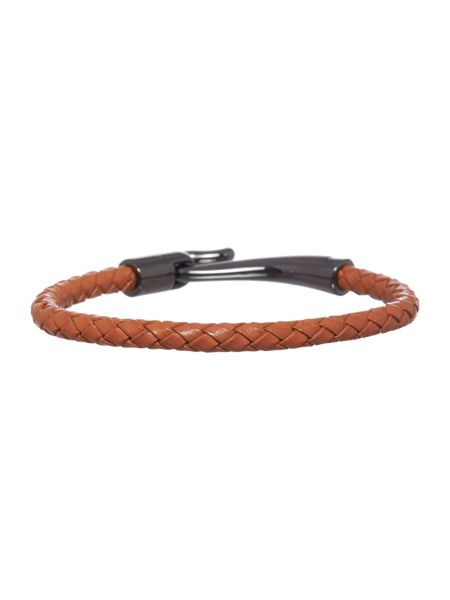 Ted Baker Leather bracelet with hook closure