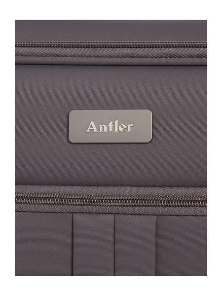 Antler Aire charcoal 4 wheel soft cabin suitcase