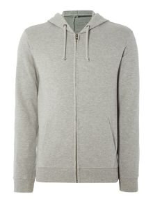 Benetton Zip Through Hooded Sweatshirt