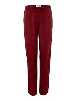 Men's Calvin Klein Woven diffused geo print trousers