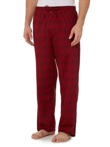 Calvin Klein Woven diffused geo print trousers