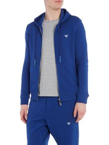 Armani Jeans Badge Logo Zip Up Tracksuit Top
