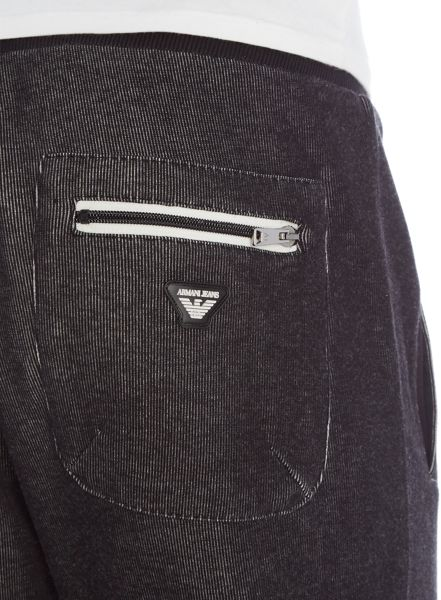 Armani Jeans Tapered Fit Tracksuit Bottoms