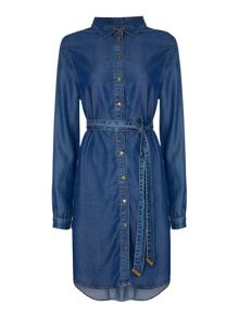 Biba Luxe denim shirt dress