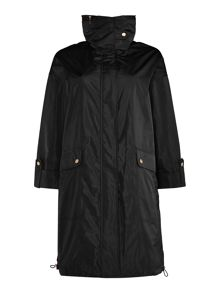 Ellen Tracy Packaway parka jacket