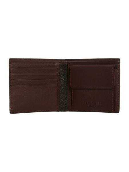 Ted Baker Contrast leather bifold wallet