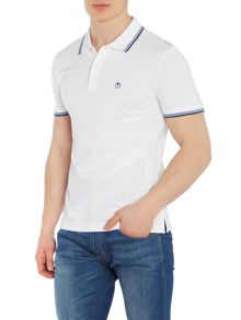 Benetton Short Sleeve Tipped Polo