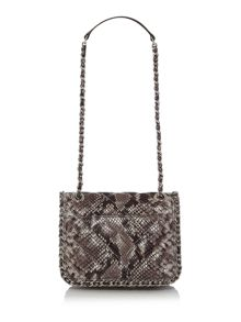 Michael Kors Carine grey shoulder bag