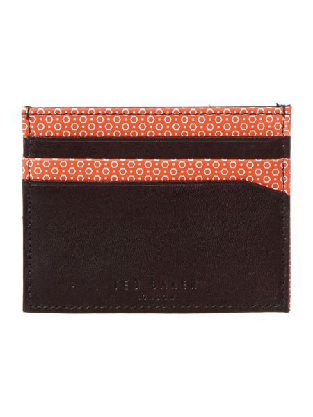 Ted Baker Printed internal wallet and card holder