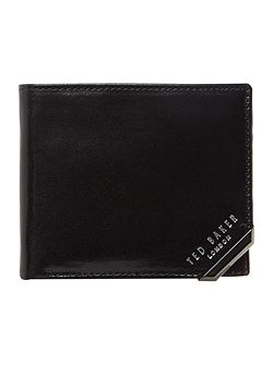 Ted Baker Metal corner bifold wallet with coin
