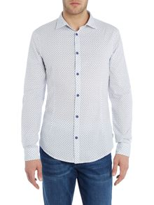 Armani Jeans Regular Fit All Over Jacquard Shirt