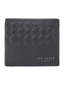 Ted Baker Woven detail bifold wallet