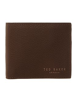 Bifold wallet with zipped coin wallet