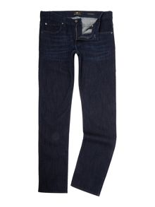 7 For All Mankind `The Straight` Luxe Performance Dark Stretch Jean