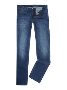 7 For All Mankind `The Straight` Luxe Performance Stretch Jeans
