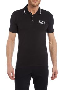 EA7 Core ID Stretch Short Sleeve Polo Shirt