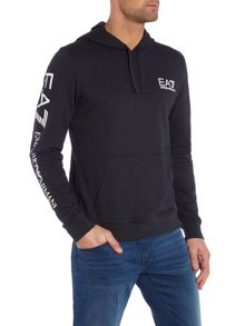 Graphic Arm Logo Hooded Sweatshirt